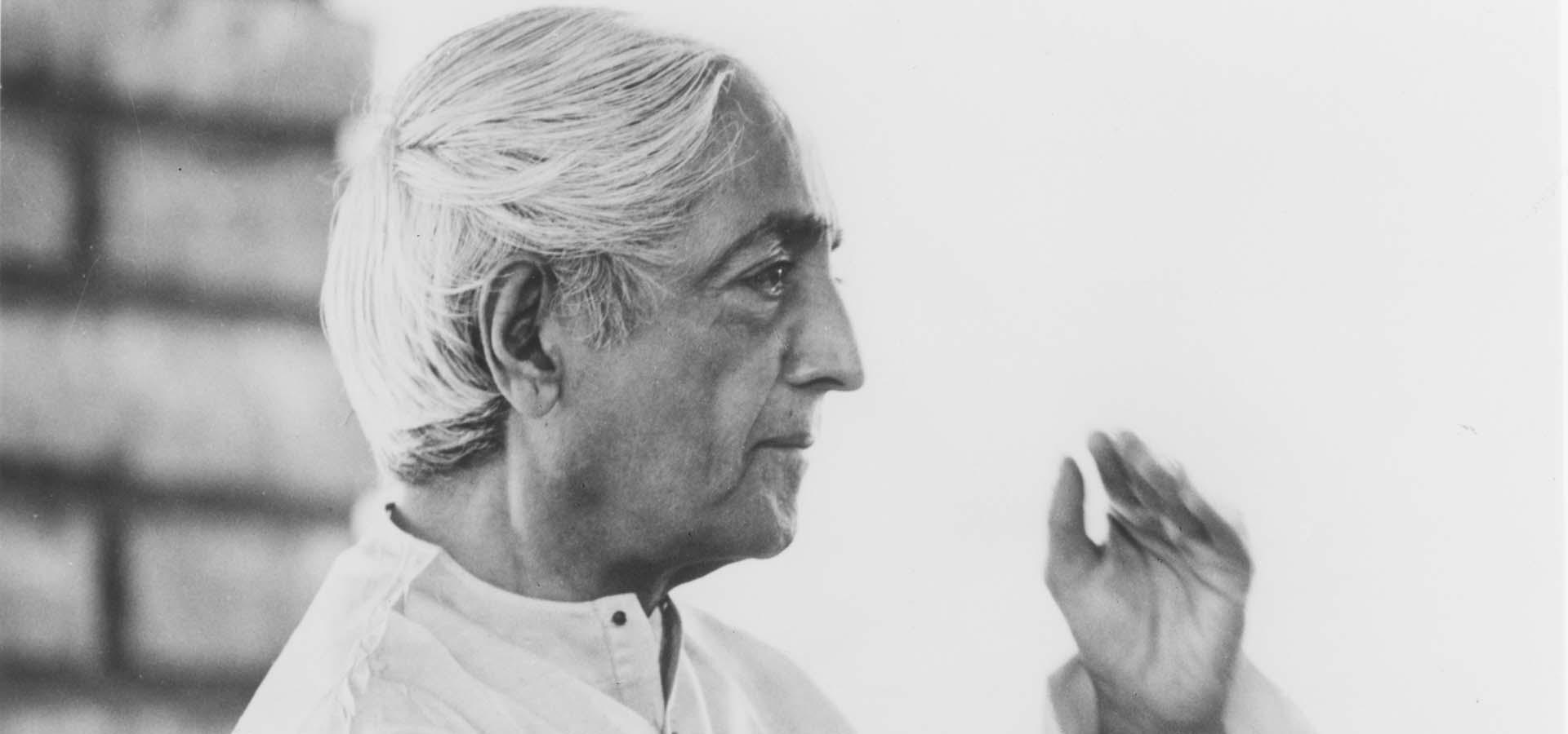 Jiddu Krishnamurti - Ο Άνθρωπος θα'πρεπε να έχει μια βαθιά, μόνιμη Σχέση με τη Φύση… - Εις Εαυτόν